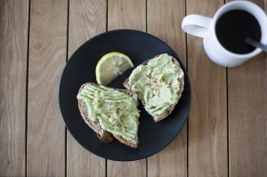 Avocado Toast with Chilli Flakes